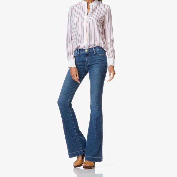 Frame Denim Denim - Frame Le High Flare Trouser Jeans Edgemont Wash